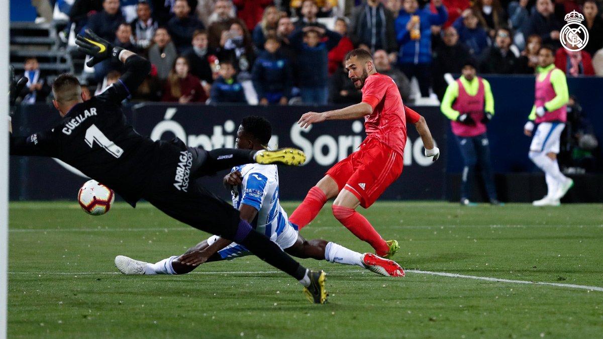 نتيجة مباراة ريال مدريد وليغانيس بتاريخ 30-10-2019 الدوري الاسباني