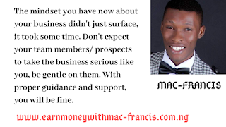 OUR DUTY AS NETWORK MARKETING PROFESSIONALS IS EDUCATION AND UNDERSTANDING.
