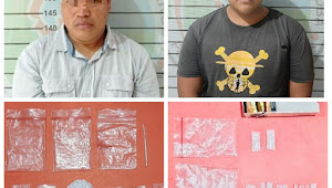 Polres Lampura Amankan Dua Orang Terduga Pelaku Penyalahguna Narkoba