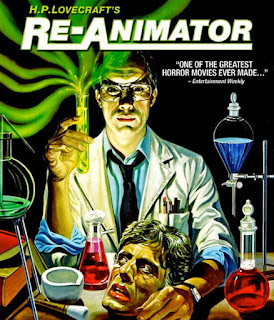 Re-Animator movie reviewed at http://www.gorenography.com