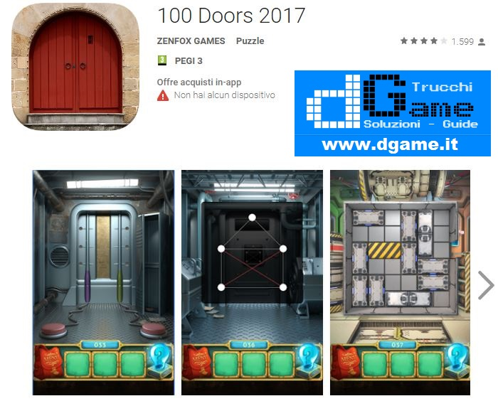 100 doors level 54 55 56 57 58 59 60 solution soluzioni for 100 doors door 56
