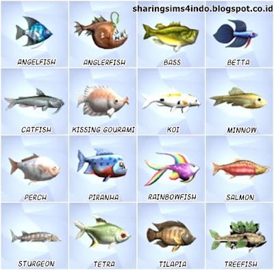 Willow creek bahasa sharingsims4indo for Sims 4 fishing