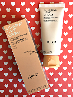 review intensive hand cream kiko