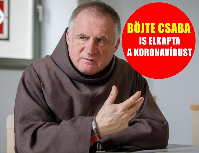 Böjte Csaba is megfertőződött