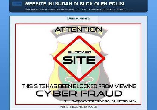 Alamat Email Pengaduan Penipuan Belanja Online Cybercrime Polri Go