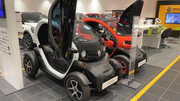 Mobil Listrik 2 penumpang Renault Twizy dijual di Indonesia ini dia Harganya