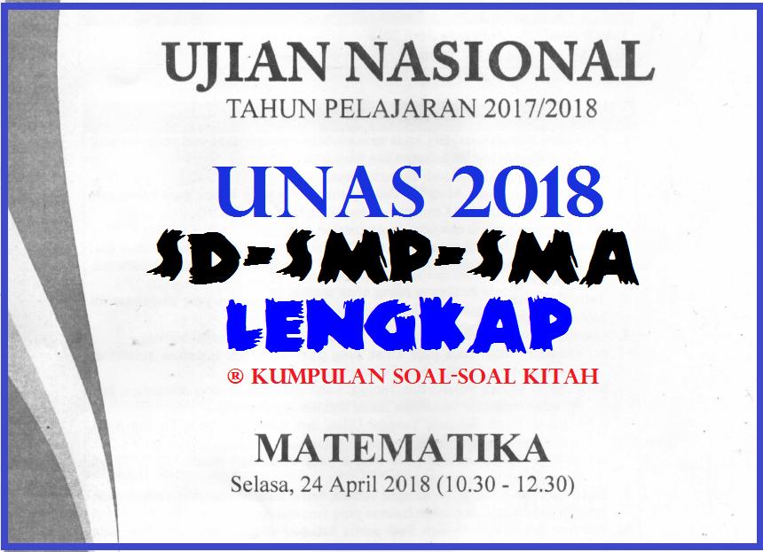 Soal Ujian Nasional Sd 2018 Helmi Kediris