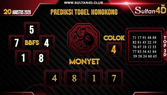 PREDIKSI TOGEL HONGKONG SULTAN4D 20 AGUSTUS 2020
