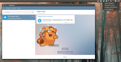 Telegram Desktop Ubuntu