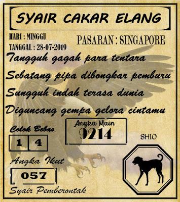 SYAIR  SINGAPORE  28-07-2019