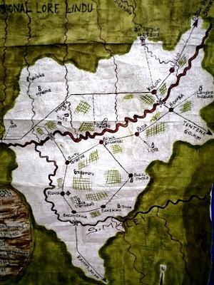 Peta Lembah Bada