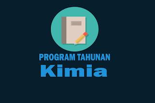 Program Tahunan Mata Pelajaran Kimia Kurikulum 2013 Revisi
