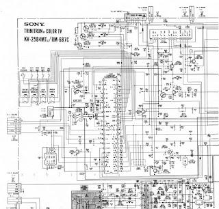 xcb2rtech: Sony KV-2584MT Diagram