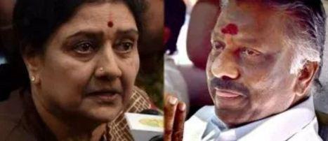 ஓ.பி.எஸ்யை சசிகலா கட்டாயப்படுத்திய ஆதாரம் சிக்கியது!