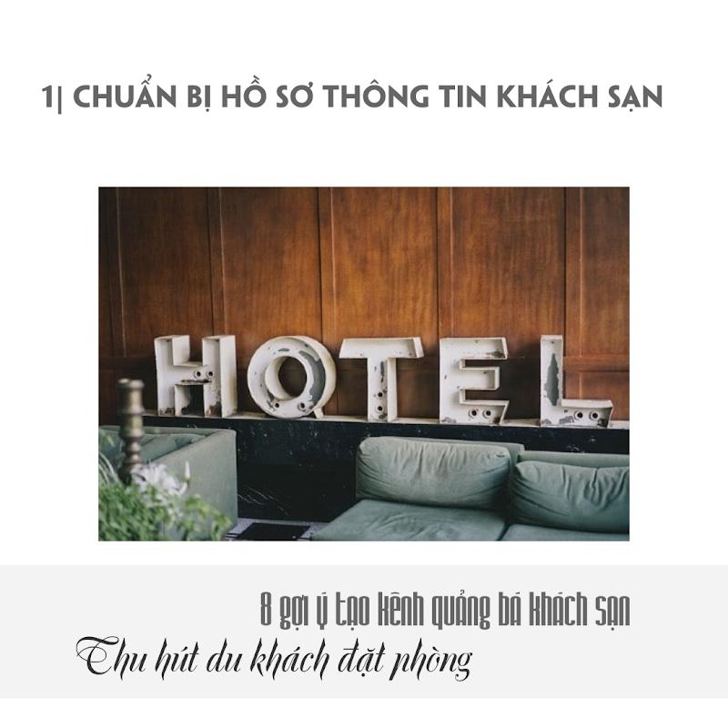 8 Gợi ý quảng bá khách sạn - Hotel Porfolio