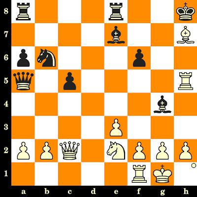 Les Blancs jouent et matent en 3 coups - Andor Lilienthal vs Vera Menchik, Hastings, 1933