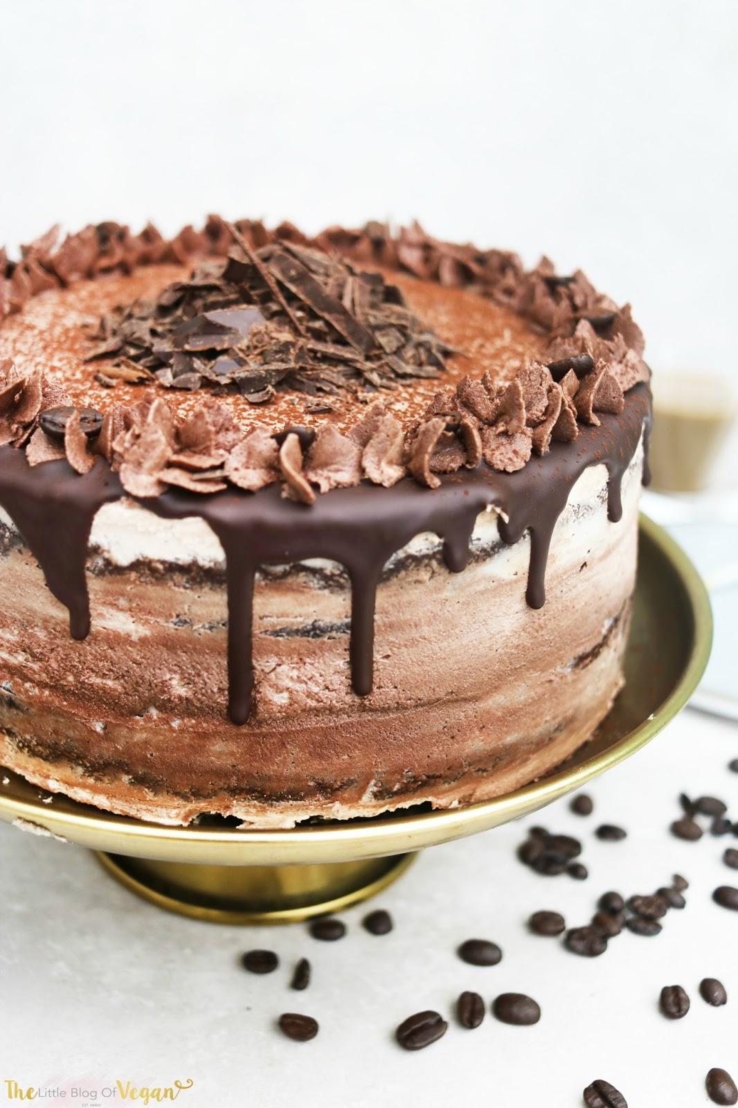 Vegan Chocolate Coffee Cake Ft Vivani The Little Blog Of Vegan