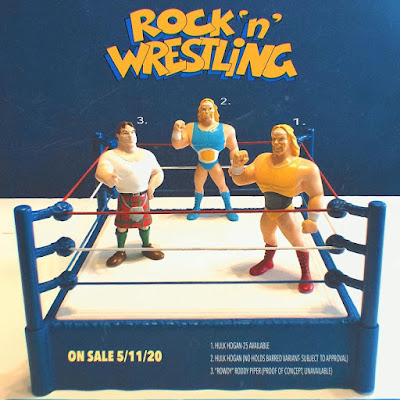 Hulk Hogan's Rock 'n' Wrestling Hulk Hogan Resin Figure by Beardys Toys