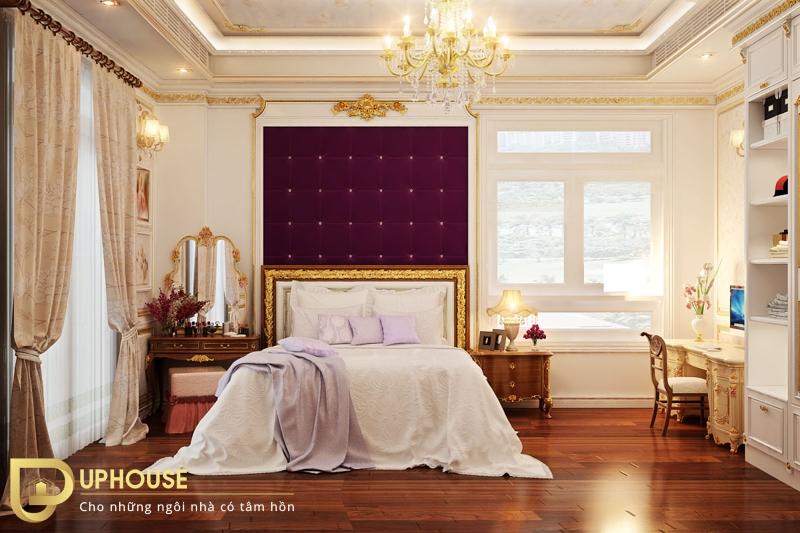 Nội thất phòng ngủ tân cổ điển 08