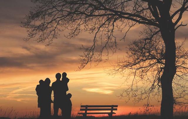 Senja bersama keluarga tercinta