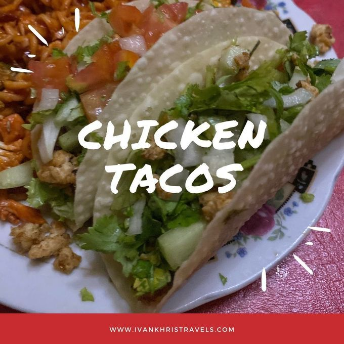 How to make chicken tacos