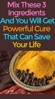 Mix These 3 Ingredients And You Will Get Powerful Cure That Can Save Your Life
