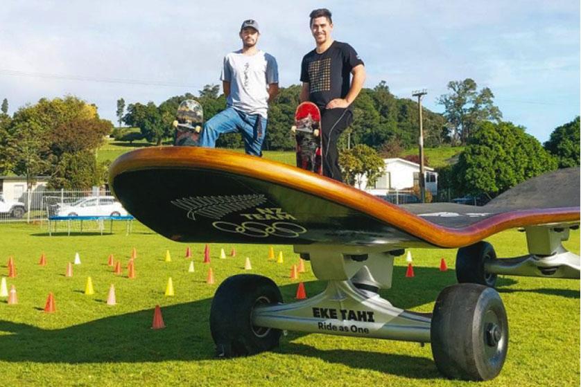 Great Olympic Skate Roadshow in Gisborne, New Zealand.