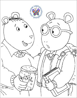 Arthur and Friends Coloring Pages Click Here To Download PDF