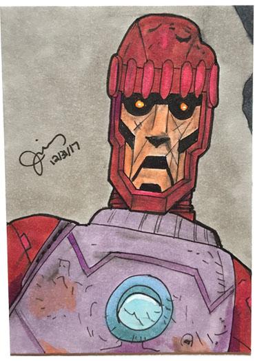 Sentinel Sketch Card
