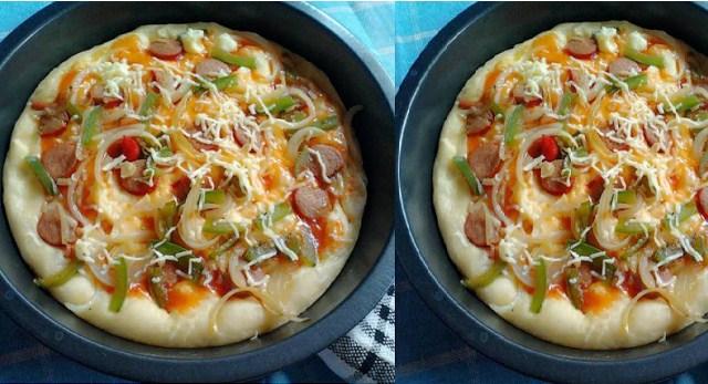 Resep Adonan Roti Pizza Kilat Tanpa Ulen Ala Lc Super Dupe Nagih Cuma 20 Menit Resep Istimewa Bunda