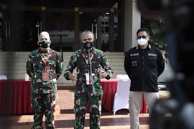 TNI Bersama Sipil Bersatu Hadapi Ancaman Biologi