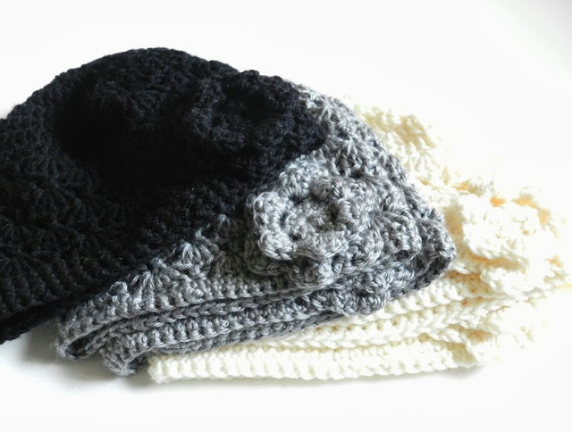 Crochet Shell Hat