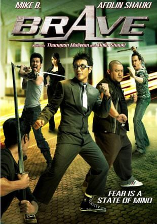 Brave 2007 Hindi Dubbed Full Movie 720p HDRip x264 700MB Download