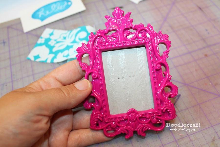 Doodlecraft Cork Board Frame Magnet