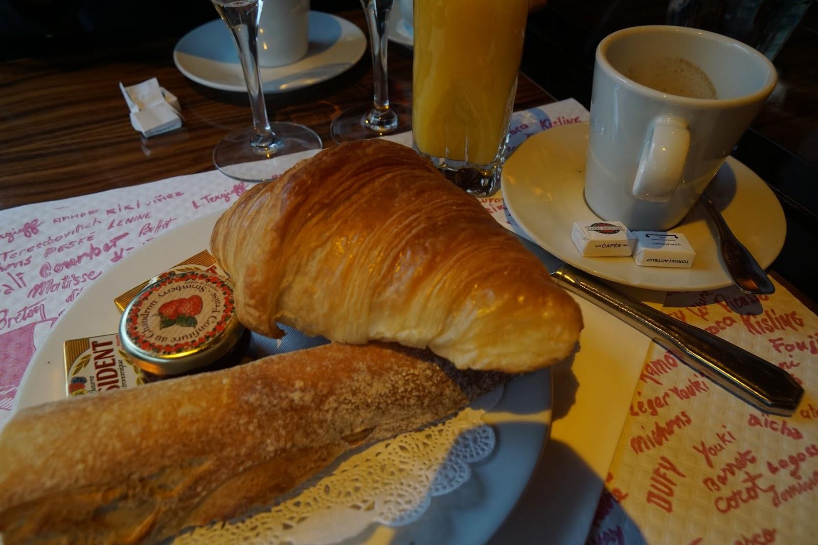 ラ・ロトンド モンパルナス(La Rotonde Montparnasse) 朝食