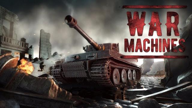 war machine  free multiplayer tank shooting games
