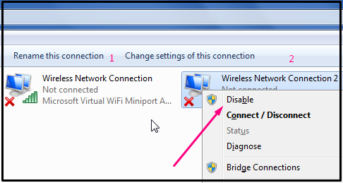 wifi laptop silang merah padahal jaringan ada