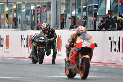 Ini Alasan Tangki Motor Balap MotoGP Diselimuti Sebelum Balapan