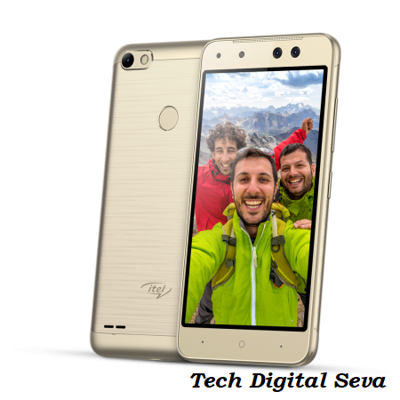 Smartphone with Dual Camera & fingerprint scanner