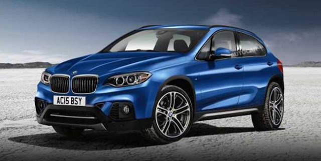 2017 BMW X1 Redesign