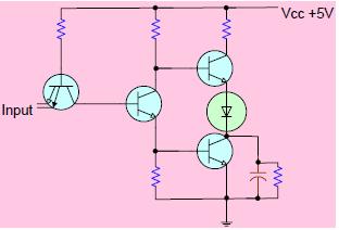 Gambar 5.4: Contoh Rangkaian TTL