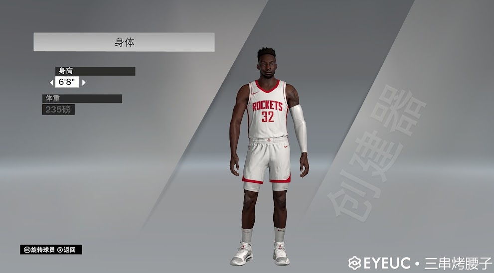 Jeff Green Cyberface and Body Model By Shoddy Series [FOR 2K21]