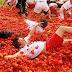 الإسبان يتراشقون بـ150 طنا من الطماطم في مهرجان!