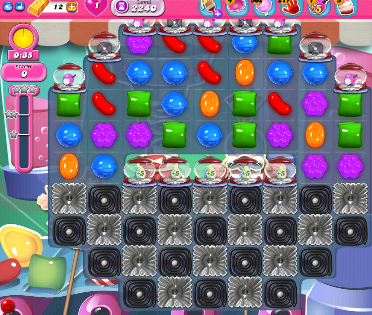Candy Crush Saga level level 2240