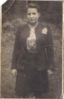 Bohaterka wspomnień. Zdjęcie wykonane po wojnie