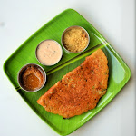 Brown Rice Adai Dosai Recipe | Brown Rice Adai | Brown Rice & Lentil Crepes | Protein Dosa