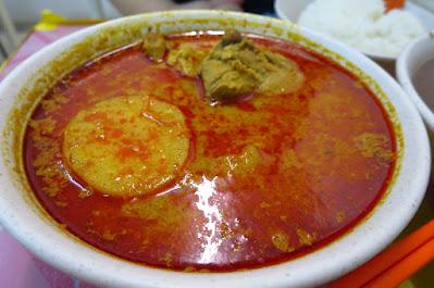 Yi Jia Chun (一家村), curry chicken