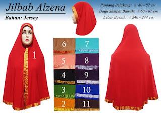 Jilbab syria syar'i terbaru 2016 bahan jersey