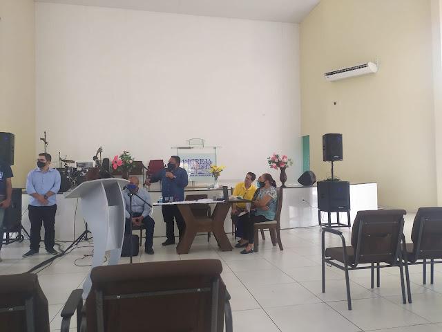 PIB de Oeiras recebe a reunião da associação das igrejas Batistas do Centro Sul Piauí