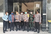 Kunjungan Kerja Tim Monitoring dan Evaluasi Divisi Hubungan Internasional Polri di PLBN Entikong